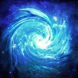 蓝色漩涡-美国航空航天局装备的这个图象的元素 免版税库存图片