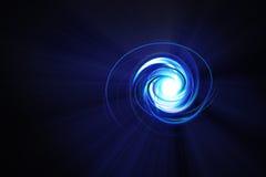 蓝色漩涡 免版税库存图片