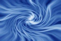 蓝色漩涡 向量例证