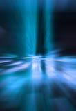 蓝色漩涡 免版税库存照片