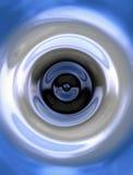 蓝色漩涡 库存照片