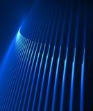 蓝色激光显示 免版税图库摄影