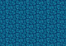 蓝色烟花疾风样式设计墙纸 皇族释放例证