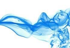 蓝色烟 免版税图库摄影