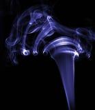 蓝色烟 免版税库存照片