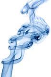 蓝色烟 免版税库存图片