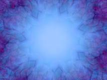 蓝色照片框架纹理 库存图片