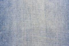 蓝色牛仔布纹理 免版税图库摄影
