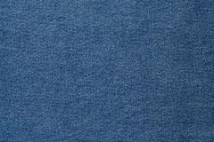 蓝色牛仔布织品 免版税库存图片