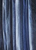 蓝色牛仔布 免版税库存图片