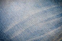 蓝色牛仔裤牛仔布纹理和条纹斜纹布在背景 库存照片