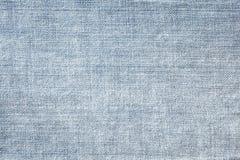 蓝色牛仔裤纹理无缝,牛仔布细节布料样式的和背景,关闭 库存图片