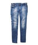 蓝色牛仔裤 库存图片