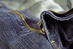 蓝色牛仔裤 免版税库存照片