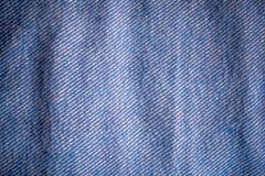 蓝色牛仔布 免版税图库摄影