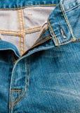 蓝色牛仔裤构造,背景 免版税图库摄影