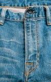 蓝色牛仔裤构造,背景 免版税库存图片