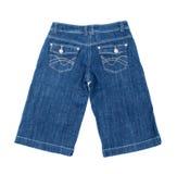 蓝色牛仔裤短裤 库存照片