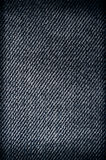 蓝色牛仔裤纹理 免版税库存照片