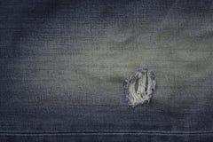 蓝色牛仔裤缺乏 库存照片