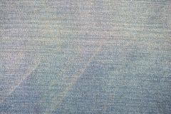蓝色牛仔裤背景和构造 库存图片