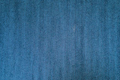蓝色牛仔裤织品纹理背景 库存图片