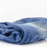 蓝色牛仔裤 免版税库存图片