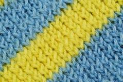 蓝色物质数据条黄色 库存照片