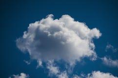 蓝色特写镜头云彩天空 库存照片