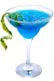 蓝色玛格丽塔酒 免版税库存照片