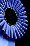 蓝色玫瑰华饰 免版税库存图片