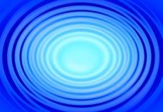 蓝色环形 免版税库存图片