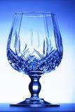 蓝色玻璃觚 免版税库存图片