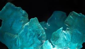 蓝色玻璃 图库摄影