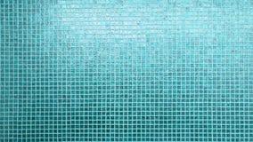 蓝色瓦片样式正方形纹理 免版税库存图片