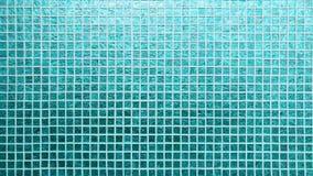 蓝色瓦片样式正方形纹理 库存照片