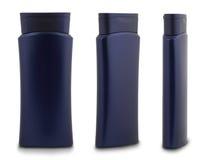 蓝色瓶胶凝体阵雨 库存图片