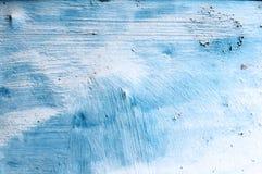 蓝色生锈的纹理 库存照片