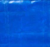 蓝色生锈的金属纹理 免版税图库摄影