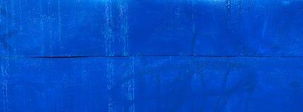 蓝色生锈的金属纹理 免版税库存图片