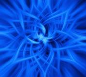 蓝色电成象 免版税库存照片
