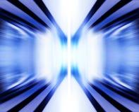 蓝色电磁式力量 皇族释放例证