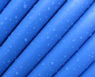 蓝色电缆 库存图片