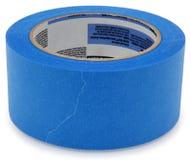 蓝色画家磁带 图库摄影