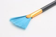 蓝色画笔 库存照片