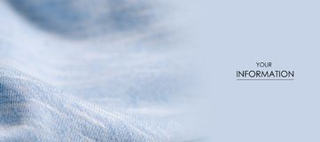 蓝色白色织品给衬衣样式穿衣 免版税库存图片