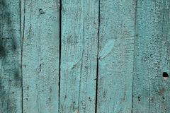 蓝色的委员会被绘 免版税库存照片