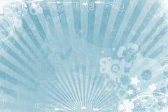 蓝色的背景冷却 免版税图库摄影