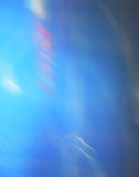 蓝色盖子插入 免版税库存照片