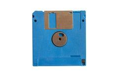 蓝色盘磁盘 库存照片